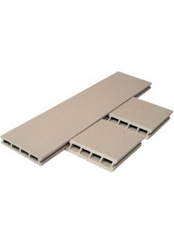 Террасная доска T-Decks Premium 3D Слоновая кость